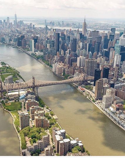foto panorâmica de nova York